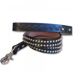 2 Row Round Stud Leash