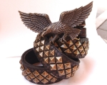 Black Pyramid with American Eagle Buckle
