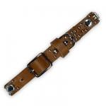 Light Brown Stud Collar